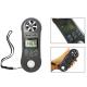 Anemómetro para aire humedad y temperatura