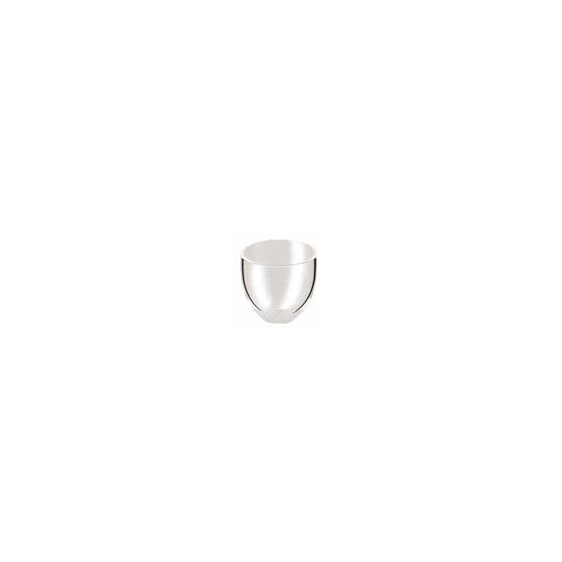 Crisol cuarzo forma mediana