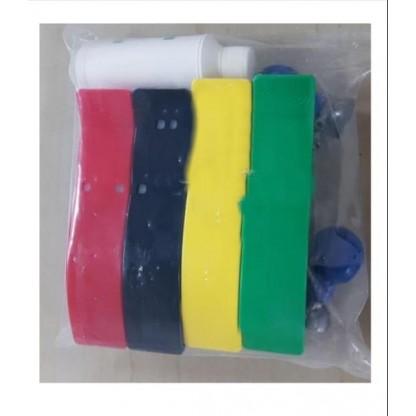 Electrodos Reusables (Juego) Adulto 2-000041 Schiller Para Electrocardiografo De 3 Canales
