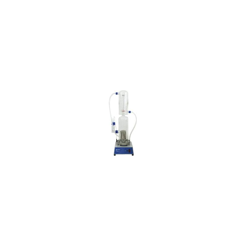 Destilador de agua capacidad: 4 Lt. / hora