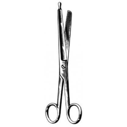 tijeras de enterotomía- 21cm