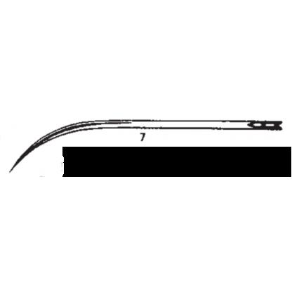 aguja de sutura A- Fig- 7