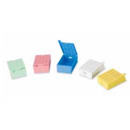 Casettes de inclusión para histología con tapa desmontable