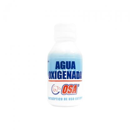Agua oxigenada x 120 ml