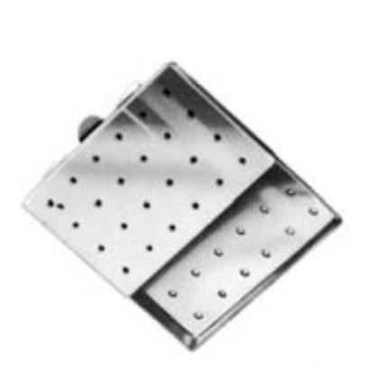 aguja steril-case- perforado