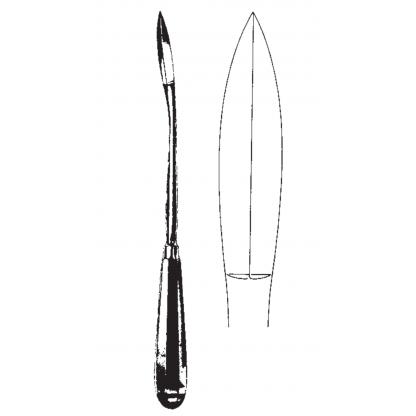 Cuchillo Mioma Segundo 27Cm...