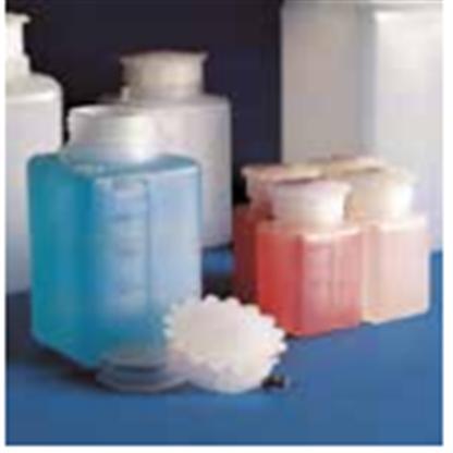 Frascos En Plastico Graduado Rectangular De Cuello Ancho Con Tapón Y Rosca 613 Capacidad 1000 Ml Fabricado En Polietileno Y En P
