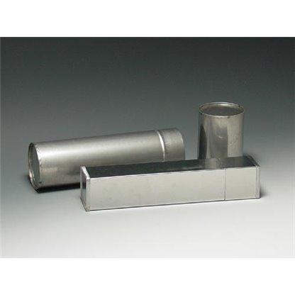 """Esterilizador para pipetas pasteur en acero tipo redondo  Ø 70 x 250 mm - 9"""""""