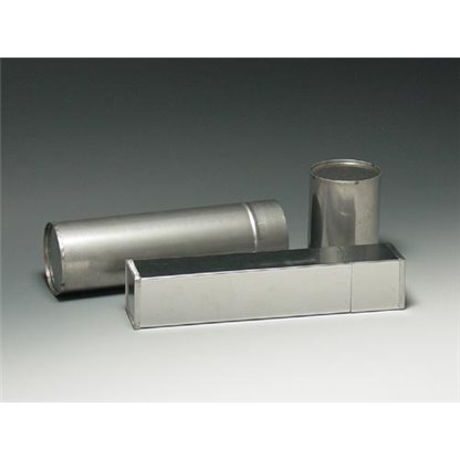 Esterilizador para pipetas en acero tipo redondo   Ø 70 x 400 mm