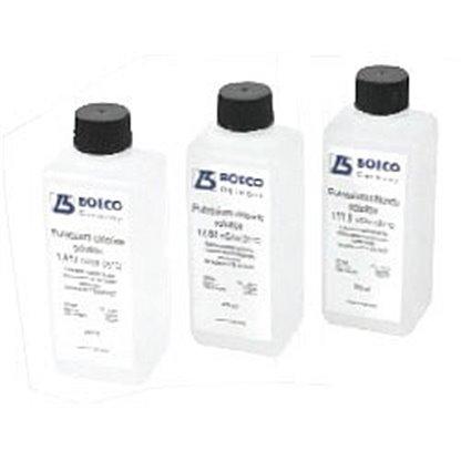Soluciones de conductividad  KCL 0,1 mol/I (25aC) 1413 μS/CM