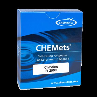 Análisis de Aguas - Cloro CHEMets Repuesto N/A - Visual