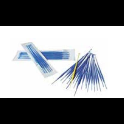 Asas bacteriológicas  Plasticas desechables, calibradas y esteriles 10 uL  -  Azules