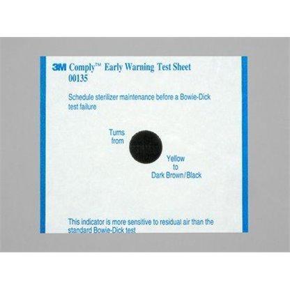 Indicador Bowie Dick Plus 00135 3M Caja X 30 Es Uso:Esta Prueba Se Usa Para Equipos De Vapor