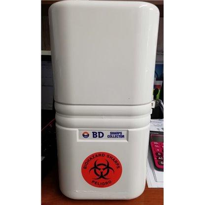Soporte Para Recolector De Elementos Punzo Cortantes Modelo Guardian De 2.9 Lt Bd 305475 Bd
