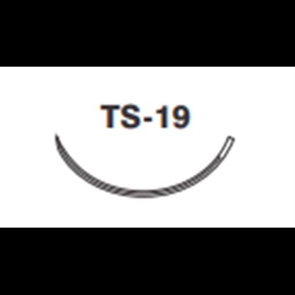 Acido Poliglicolico (Assucryl) 4/0 Con Aguja Cortante 3/8 Circulo De 19 Mm Ts-19 Hebra De 45
