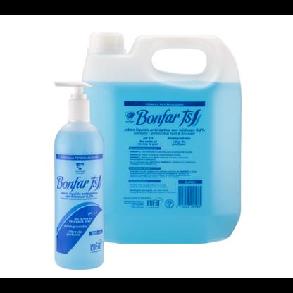 Jabon Liquido Antiseptico Humectante Bonfar Ts (Triclosan 0 2 %) Eufar Galon Usos: Lavado
