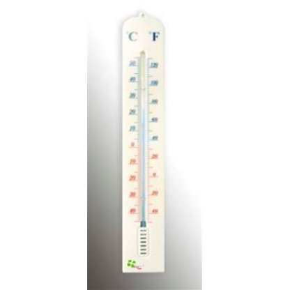 Termometro Ambiental Base En Acrilico Alla France Escala: -40 A 50Oc. (-40 A 120Of) Columna