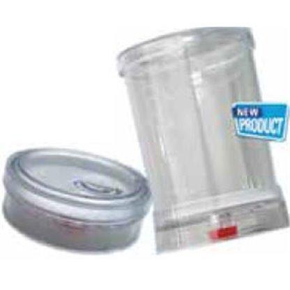 Embudo esteril Análisis microbiológico Volumen: 100 mL  Poro 0.45 mm