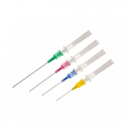 Cateter Intravenoso (Canula Heuer) No 20 G (Rosado) 1018.20 Heuer Se Utiliza Para Proveer