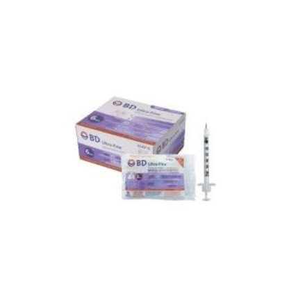 Jeringa Para Tuberculina 1 Ml Con Aguja De 25 X 5/8 302579 B.D Caja Por 100 Es Especial Para