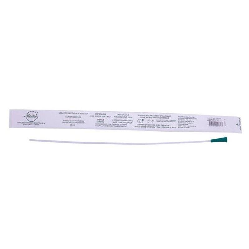 Cateter (Sonda) Nelaton No. 10 De 40 Cms. Medex Paquete Por 25 Plastica Esteril Desechable