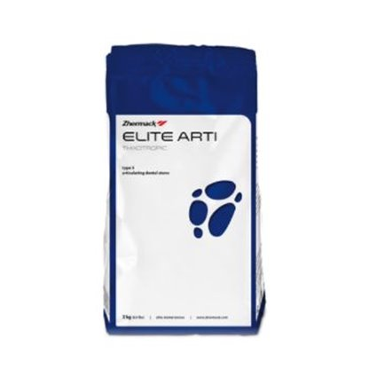 Elite Arti Fast Bolsa De 3 Kg Blanco Tipo Yeso Elite Arti Para Articuladores Zhermack