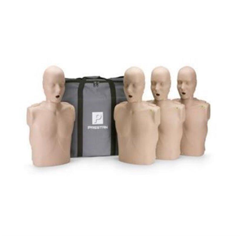 PACK DE 4 MANIQUÍ ADULTO PRESTAN CON MONITOR CPR