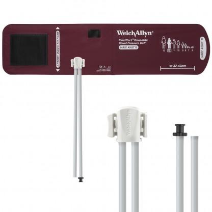 Brazalete Reusable Flexiport Tamaño Adulto Ancho Con Puerto De Conexión De Dos Vías-Conector Tipo Triple Funcionalidad-Ref-Reuse