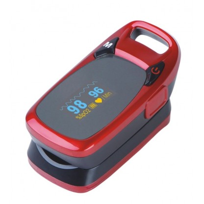Oximetro De Pulso (Pulsoximetro) Portatil /Sensor Tipo Dedo A320