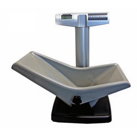 Bascula Digital Pesa Bebes (Grado Medico) Con Silla Para Pacientes Con Reflujo Gastroesofagico