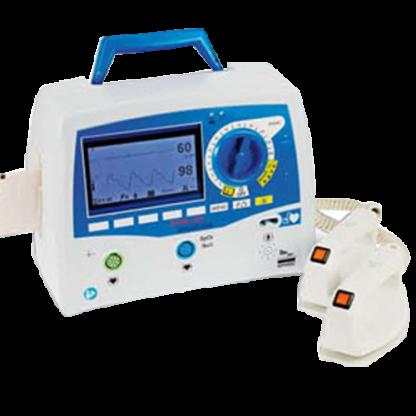 Desfibrilador Monitor Bifasico Mod. DEFIGARD 4000 DG4000 PADDLES 1-108-9901 con Marcapasos