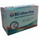 Agujas Para B-D Pen Calibre 32g X 4 Mm-Nano-Ref 320478 320479