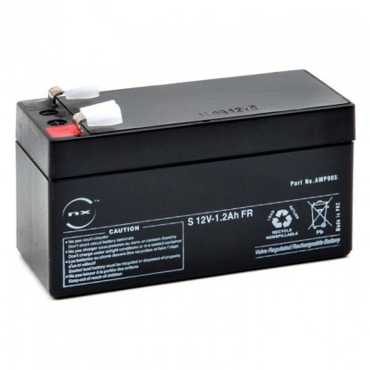 Batería Recargable De 12v-1-2 A-Homologada Uso Electrocardiógrafo Schiller At-1 At-2-At-101-Camas Huntleigh