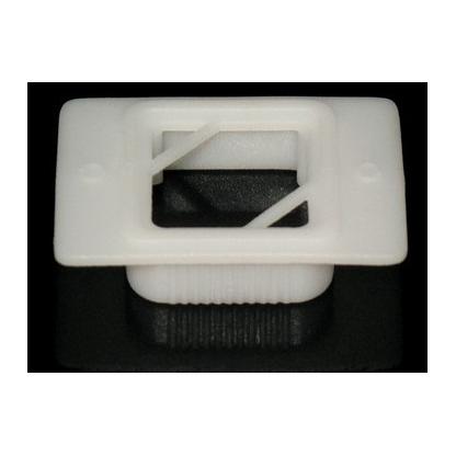 Anillo En Polipropileno-Color Blanco-Para Inclusión Y Corte En Parafina-Para Uso En Patología Presentación Bolsa X 500 Unds-