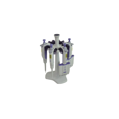 Soporte Para Pipetas 1672112 Banco Giratorio Para Micropipetas Plástico Para Reposar Hasta 5 Micro Boeco
