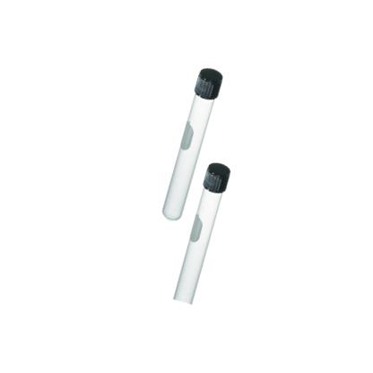 Tubos de ensayo - Fondo Redondo con Tapa Rosca en Teflón Citoglass - 12 X 75 MM (5 ML)