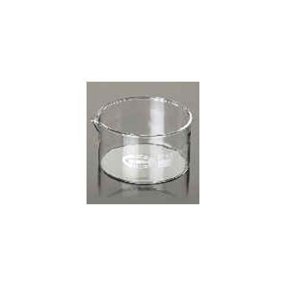 Cristalizador De Vidriov Fondo Plano Con Pico 11710060F 60 X 30 Mm 60 Ml Fabricado En Vidrio Borosilicato 3.3, Su Objetivo Pr Gl