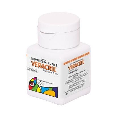 Veracril® Acrílico Termopolimerizable Colores Convencionales Frasco x 60 g
