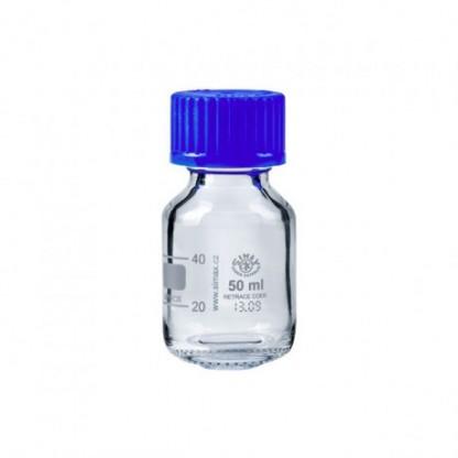 Frascos en vidrio Tapa rosca azul vidrio claro
