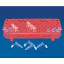 Gradillas en Plástico (Para 96 microtubos PCR de 0.2 mL - 0.5 mL)