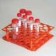 Gradillas en Plástico (Para 50 tubos de centrífuga)
