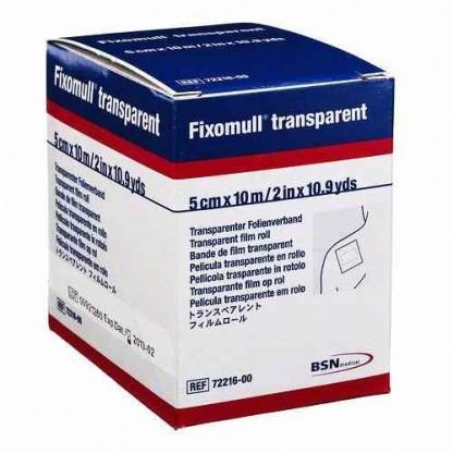 Esparadrapo Hipoalergénico Fixomull Transparente