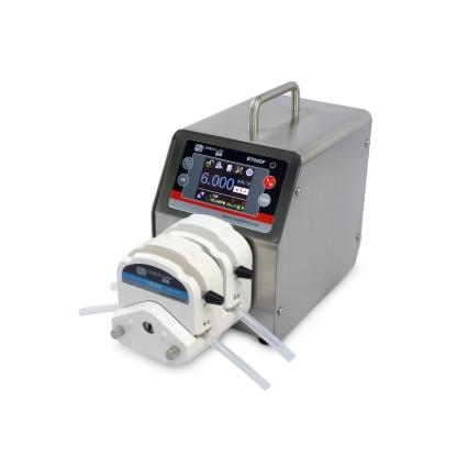 Bomba Peristaltica Digital Bt101S Pantalla Color Lcd + Pantalla Táctil Parámetros Técnicos - Rango De Ve Fluid