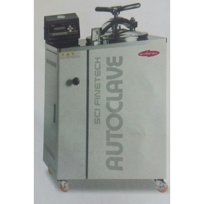 Autoclaves Ftac-703 Control Digital Capacidad 80 L - Dimensiones: 750 X 600 X 1090 Mm Ext Finetech