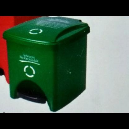 Caneca De Seguridad Biológica 732 Verde: Desechos Ordinarios No Desechables - Capacidad: 20 Lts. Caneca Lab Scient
