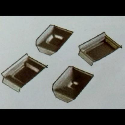 Casettes De Inclusión 51052424 Dimensiones Agujeros: 24 X 24 X 6 Mm Acero Inoxidable Citoplus