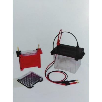 Cámara mini para electroforesis vertical Maximo tamaño del Gel : 7.5×10 cm