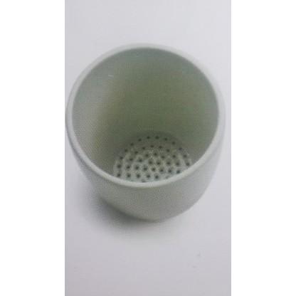 Crisoles 60148 Gooch En Porcelana - 36 X 21 Mm 25 Ml Fabricado En Grafito Con Cierto Coorster