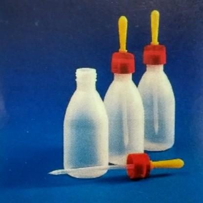Frascos en plástico gotero con chupa