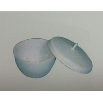 Crisoles A 197-04 Teflón Sin Tapa Siceo Cónico, Forma De Vientre, Sin Pico. Material: Pt Glassco